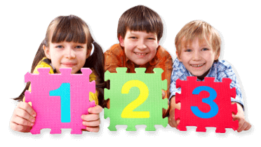 kids holding a puzzle
